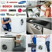 УСТАНОВКА И ПОДКЛЮЧЕНИЕ— стиральных,  посудомоечных машин. ☎941-62-41