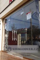 Стеклянные двери из закалённого безопасного стекла на заказ
